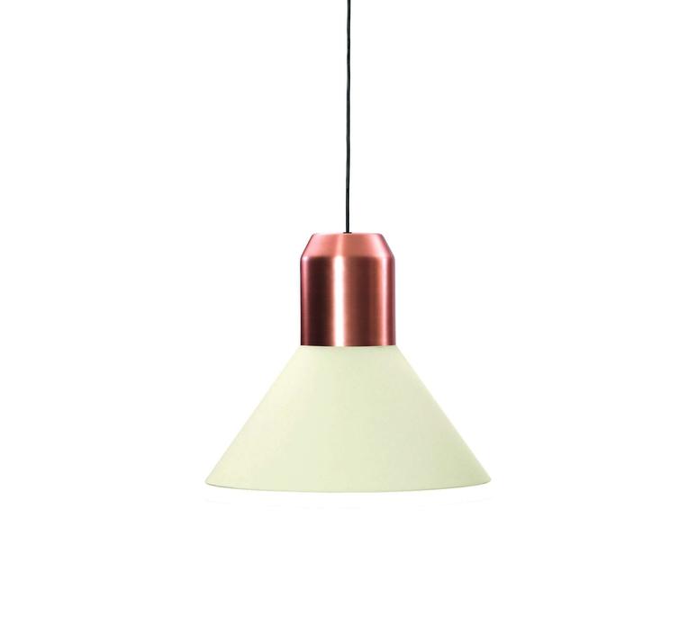 Bell copper white sebastian herkner  classicon bellcopperwhite luminaire lighting design signed 29642 product