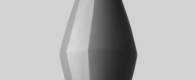 Suspension bell gris h28cm northern lighting normal