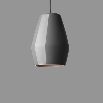 Suspension bell gris h28cm northern lighting normal