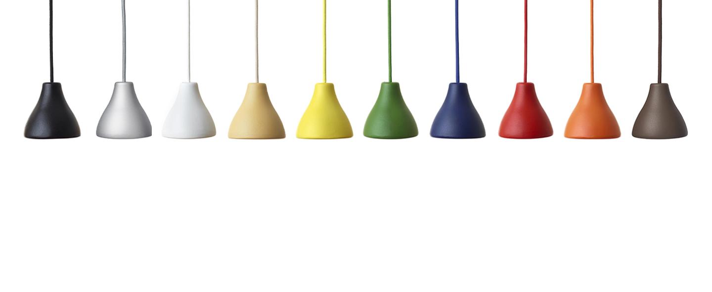 Suspension bell jaune zinc o12cm h11 3cm wastberg normal