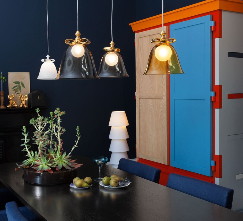 Bell l  suspension pendant light  moooi molbes xia  design signed nedgis 68402 product
