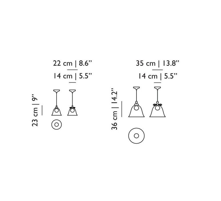 Bell l  suspension pendant light  moooi molbes xia  design signed nedgis 68403 product