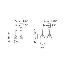 Bell l  suspension pendant light  moooi molbes xia  design signed nedgis 68403 thumb