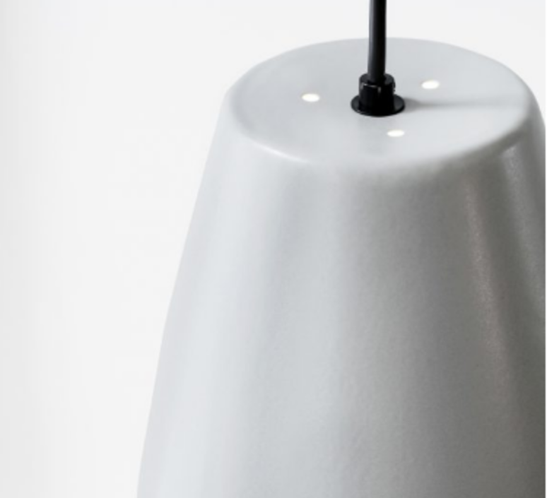 Bell light grey matt mark braun northern lighting  bell greymatt luminaire lighting design signed 28893 product