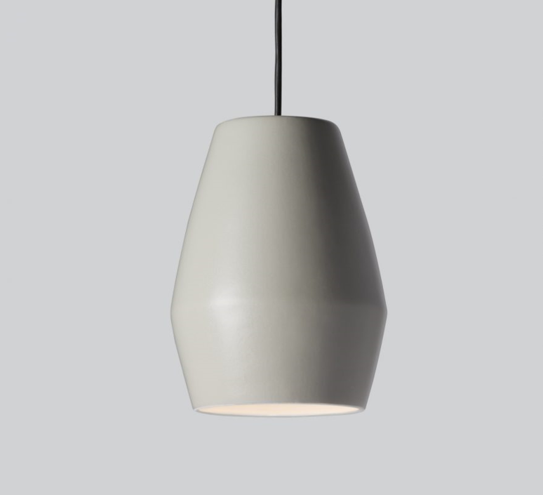 Bell light grey matt mark braun northern lighting  bell greymatt luminaire lighting design signed 28894 product