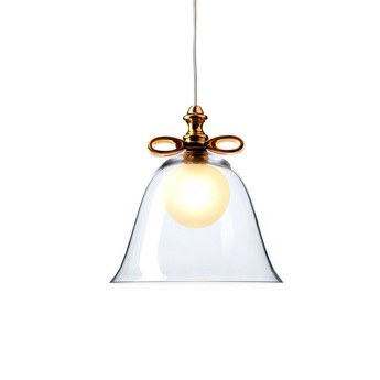 Suspension bell s transparent or o22cm h23cm moooi normal
