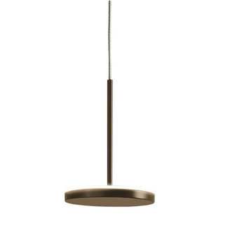 Suspension bella indirect avec rosace bronze ip40 o10 1cm h14cm panzeri normal