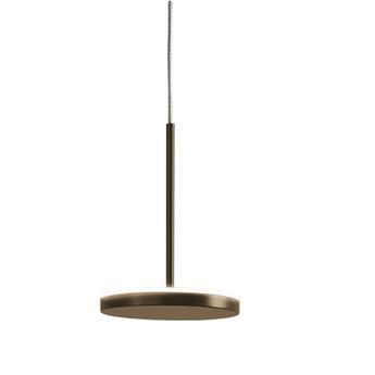Suspension bella indirect avec rosace bronze ip40 o10 1cm h14cm panzeri normal