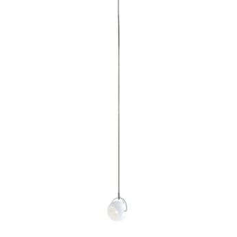 Suspension beluga d57 s blanc l11 6cm h11cm fabbian normal