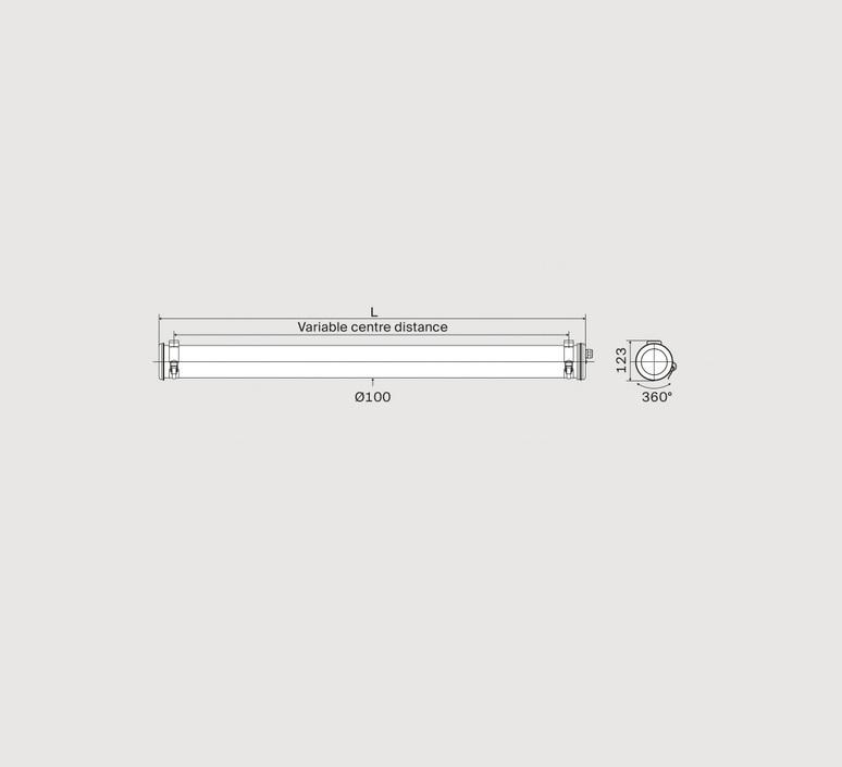 Benson 100  suspension pendant light  sammode 42050010  design signed nedgis 86778 product