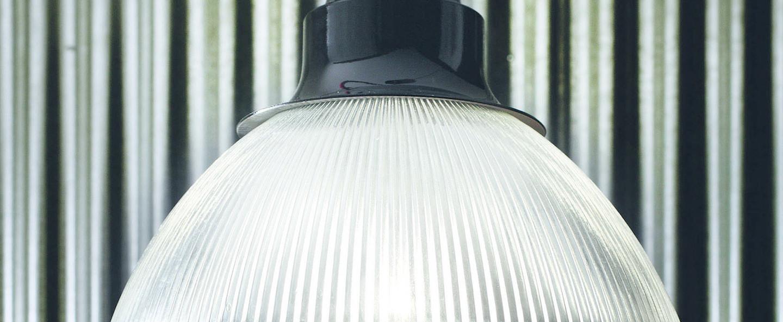 Suspension berlino noir cable orange o50cm h39cm verre zava normal