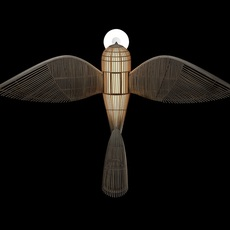 Big bird  suspension pendant light  lzf bird ls h led dim0 10v  design signed nedgis 118954 thumb