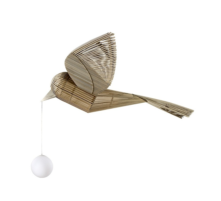Big bird  suspension pendant light  lzf bird ls h led dim0 10v  design signed nedgis 118956 product