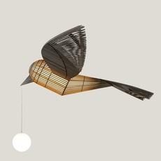 Big bird  suspension pendant light  lzf bird ls h led dim0 10v  design signed nedgis 118957 thumb