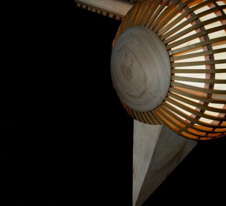 Big bird vertical  suspension pendant light  lzf bird ls v led dim0 10v  design signed nedgis 119946 product