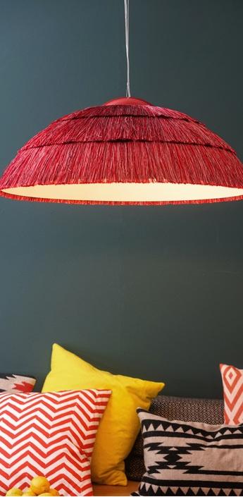 Suspension bigpascha rouge o74cm fraumaier normal