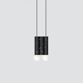 Suspension birch noir l18cm h32 5cm atelier areti normal