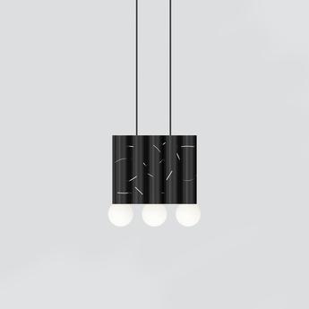 Suspension birch noir l28cm h32 5cm atelier areti normal