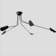 Bird 5 bras daniel gallo suspension pendant light  daniel gallo bird 5 bras  design signed 59549 thumb