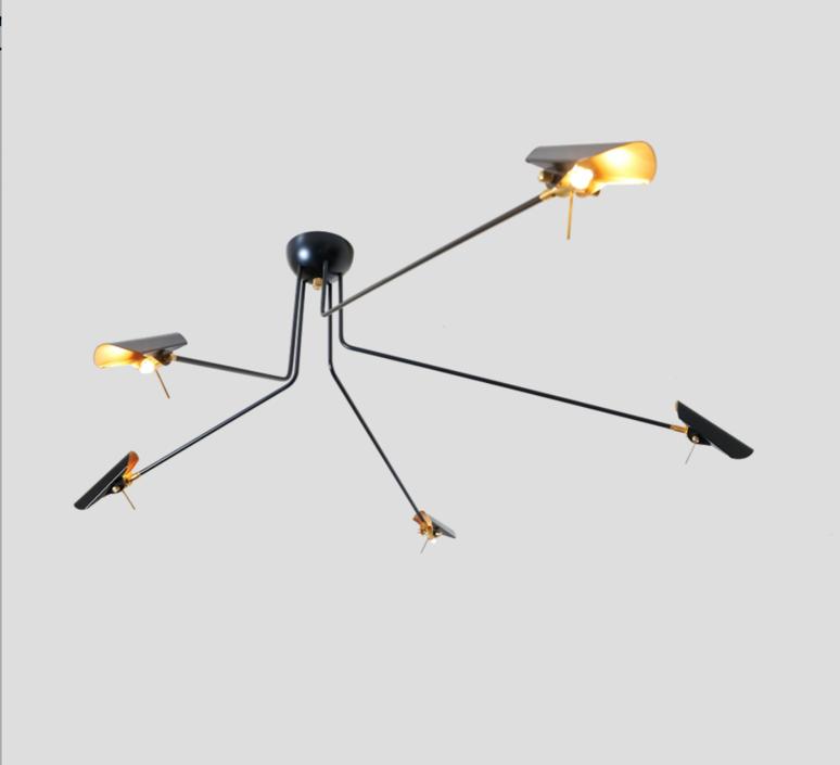Bird 5 bras daniel gallo suspension pendant light  daniel gallo bird 5 bras  design signed 59550 product