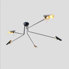 Bird 5 bras daniel gallo suspension pendant light  daniel gallo bird 5 bras  design signed 59550 thumb