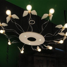 Birdie s ring led ingo maurer suspension pendant light  ingo maurer 1064050  design signed nedgis 64756 thumb