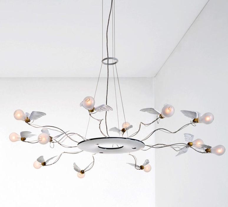 Birdie s ring led ingo maurer suspension pendant light  ingo maurer 1064050  design signed nedgis 64758 product