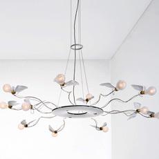 Birdie s ring led ingo maurer suspension pendant light  ingo maurer 1064050  design signed nedgis 64758 thumb