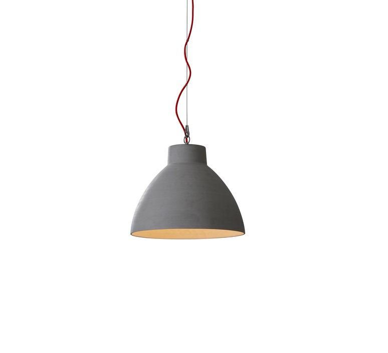 suspension bishop gris h49 5cm 60cm wever ducre luminaires nedgis. Black Bedroom Furniture Sets. Home Design Ideas