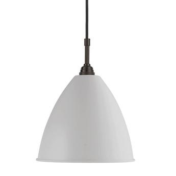 Suspension bl9 m blanc laiton noir o21cm h18cm gubi normal