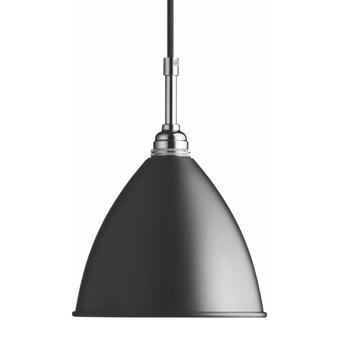 Suspension bl9 m noir chrome o21cm h18cm gubi normal