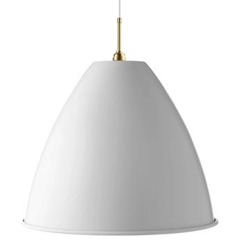 Suspension bl9 xl blanc mat laiton o60cm h50cm gubi normal