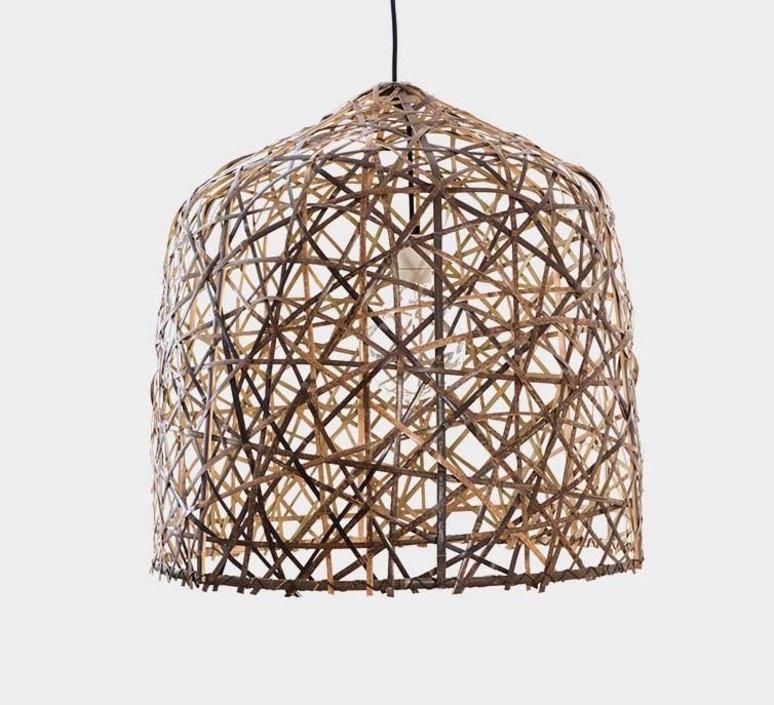Black bird s nest medium  suspension pendant light  ay illuminate 990 100 02 p  design signed nedgis 66493 product