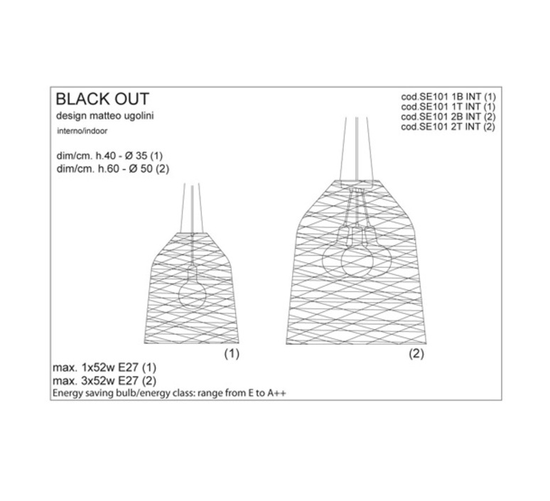 Black out matteo ugolini karman se101 1b int luminaire lighting design signed 19978 product
