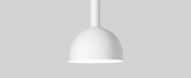 Suspension blush blanc led 3000k 900lm o9cm h22cm northern normal