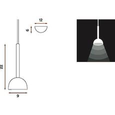 Blush morten et jonas suspension pendant light  northern lighting 116  design signed nedgis 63499 thumb