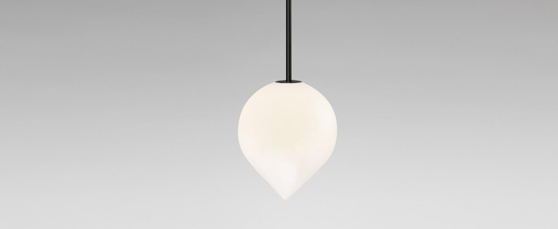 Suspension bob blanc noir o15cm h18cm anastassiades studio normal