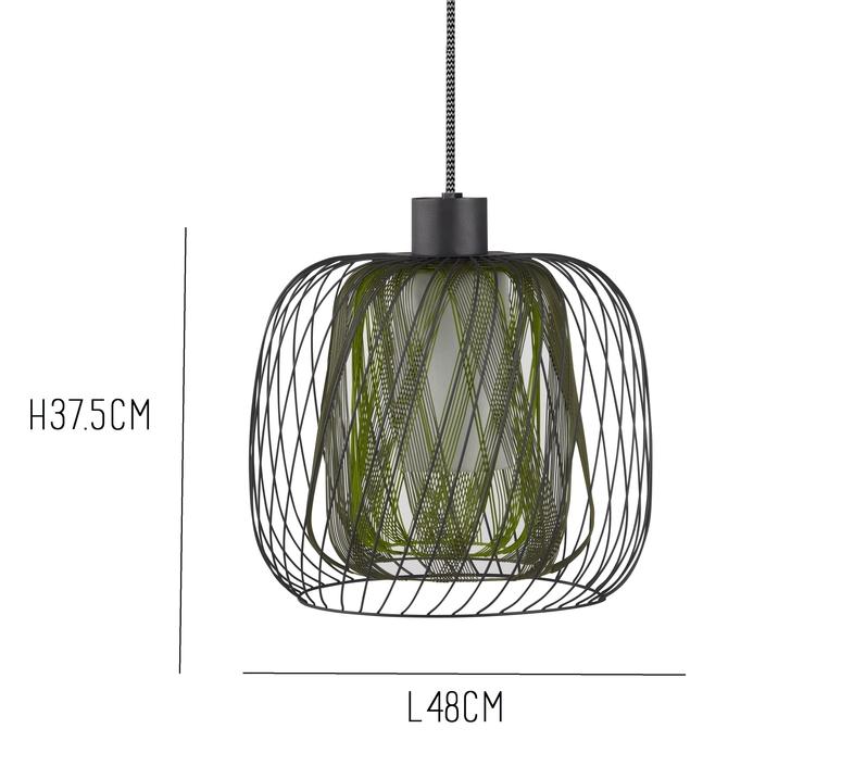 suspension bodyless gm vert 48cm forestier. Black Bedroom Furniture Sets. Home Design Ideas