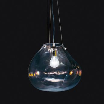Suspension bolla transparent o33cm fontana arte normal