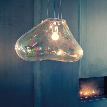 Suspension bolla transparent o51cm fontana arte normal