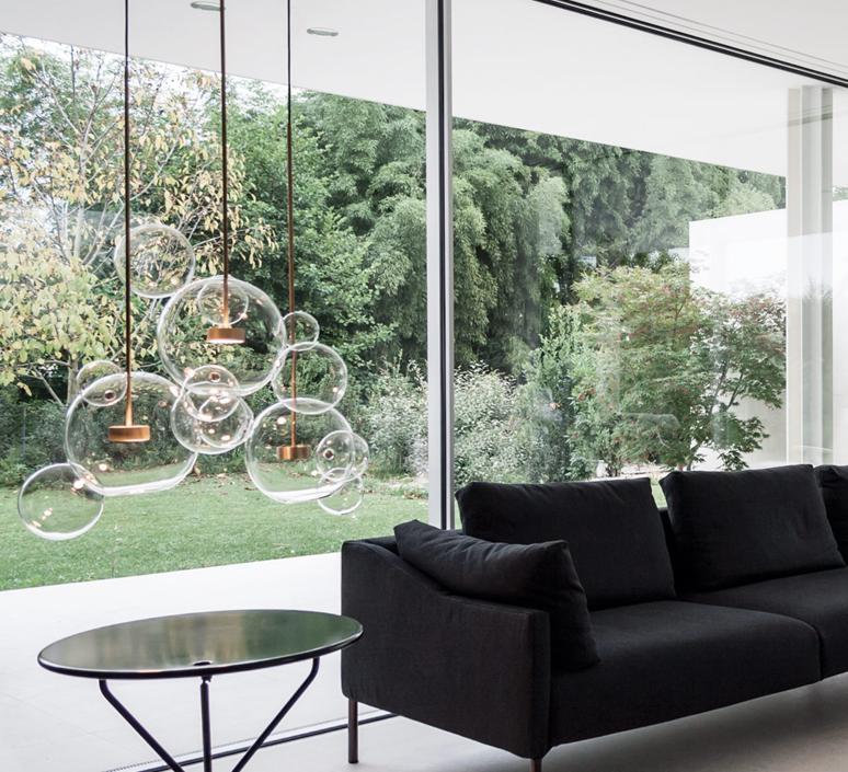Soap Bubbles Design Modern Led Colorful Glass Pendant