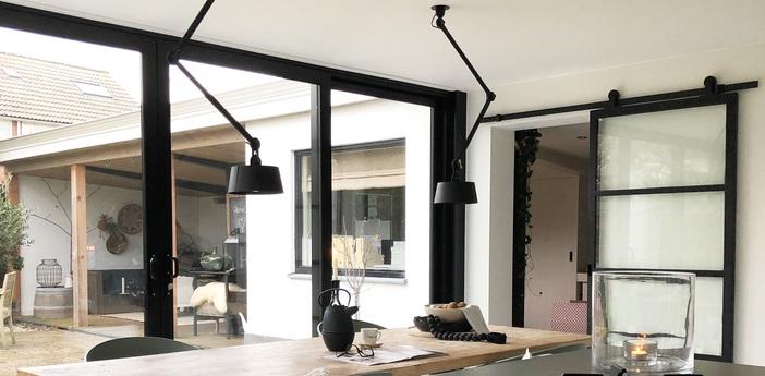 Suspension bolt ceiling 2 arm underfit gris l22cm h96cm tonone normal
