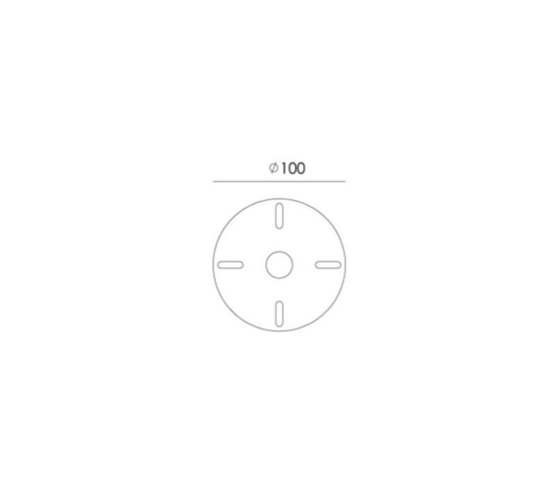 Bolt ceiling 2 arm underfit anton de groof suspension pendant light  tonone 1335  design signed nedgis 113271 product