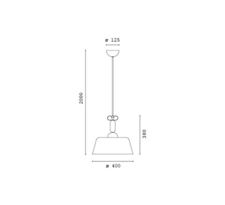 Bon ton cristina celestino suspension pendant light  torremato n3f1  design signed 52313 product