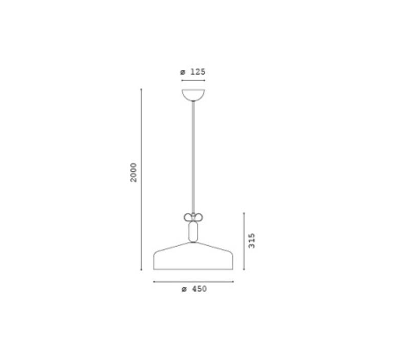 Bon ton cristina celestino suspension pendant light  torremato n2d1  design signed 52299 product