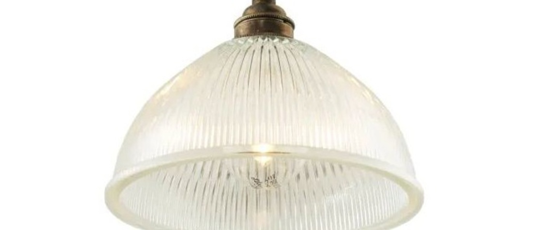 Suspension boston laiton satine o19 5cm h17cm cable 2m mullan lighting normal