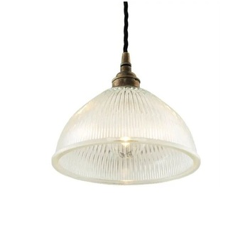 Suspension boston laiton satine o19 5cm h17cm cable 2m mullan lighting normal