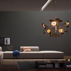 Botti studio delightfull delightfull suspension botti 90 gold luminaire lighting design signed 25570 thumb