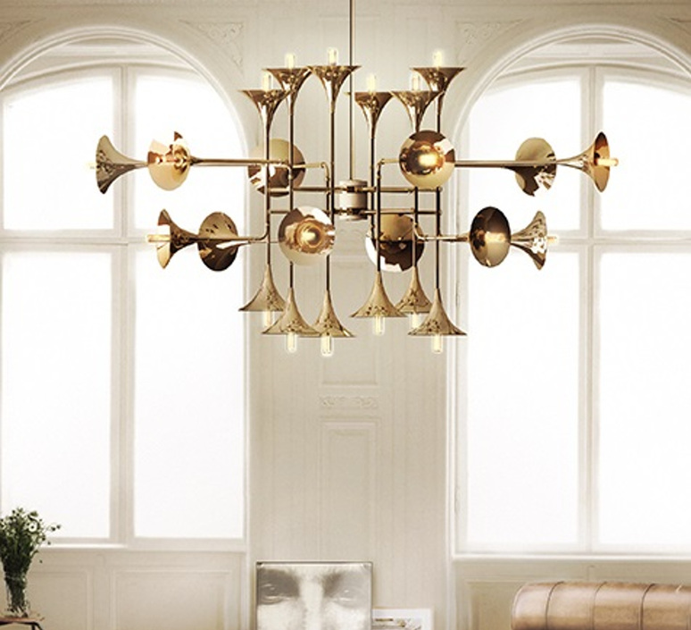 Botti studio delightfull delightfull suspension botti 90 gold luminaire lighting design signed 25571 product