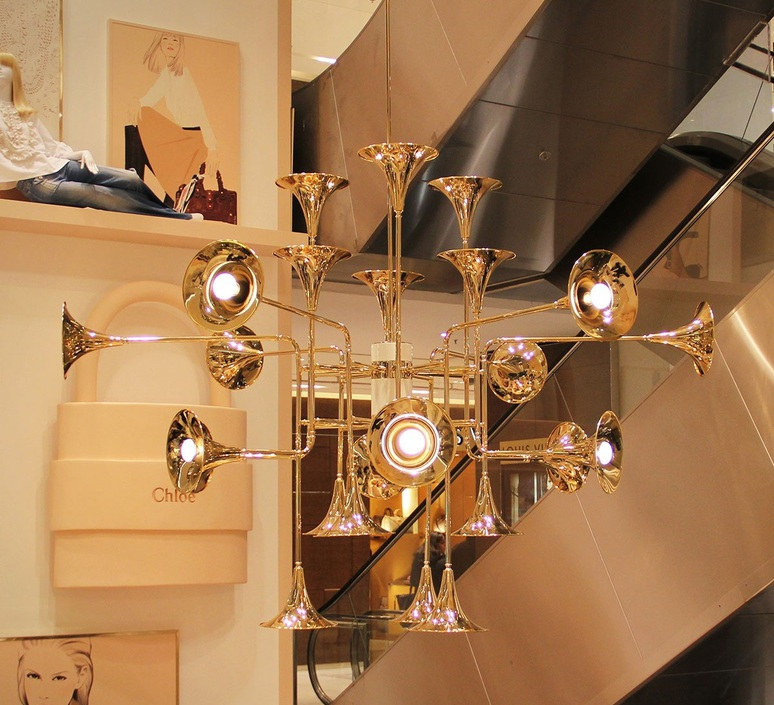 Botti studio delightfull delightfull suspension botti 90 gold luminaire lighting design signed 25572 product